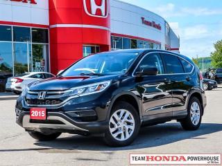 Used 2015 Honda CR-V SE for sale in Milton, ON