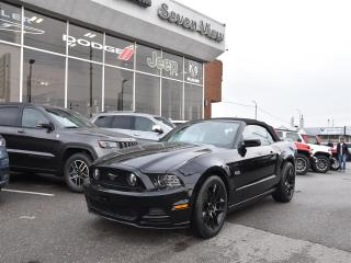 Used 2014 Ford Mustang GT NAVI/LEATHER/REAR CAMERA/ONLY 30,000 KMS for sale in Concord, ON