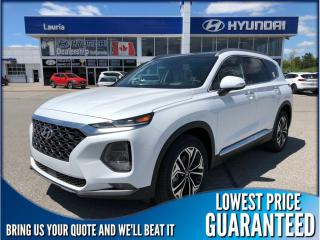 New 2019 Hyundai Santa Fe 2.0T AWD Ultimate Auto for sale in Port Hope, ON