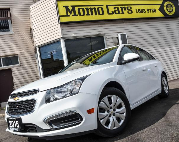 2016 Chevrolet Cruze Backup camera! Fuel Economy!Only $132/bi-weekly!
