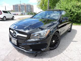 Used 2015 Mercedes-Benz CLA250 CLA 250 AMGpkg/PanoRoof/Blindspot for sale in BRAMPTON, ON