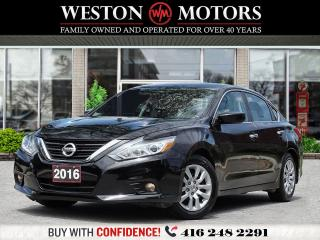 Used 2016 Nissan Altima S*REVERSE CAMERA*BLUETOOTH*USB*AUX*WOW ONLY89KMS!* for sale in Toronto, ON