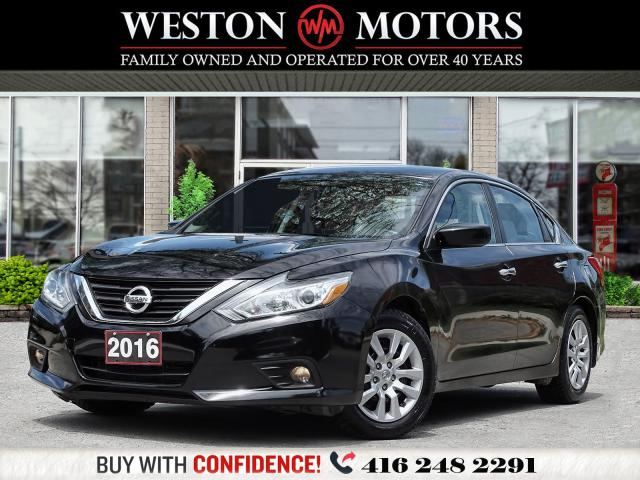 2016 Nissan Altima S*REVERSE CAMERA*BLUETOOTH*USB*AUX*WOW ONLY89KMS!*