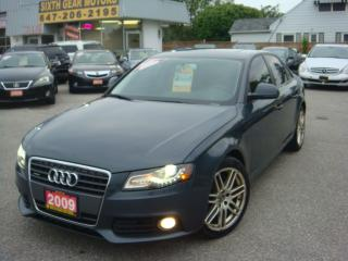 Used 2009 Audi A4 quattro for sale in Ajax, ON