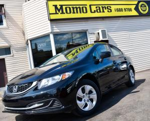 Used 2015 Honda Civic Bluetooth! Backup Camera! Only $123/bi-weekly! for sale in St. Catharines, ON