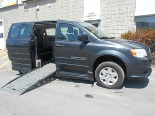 Used 2012 Dodge Grand Caravan SE-Side Entry Wheelchair Accessible-Manual for sale in London, ON