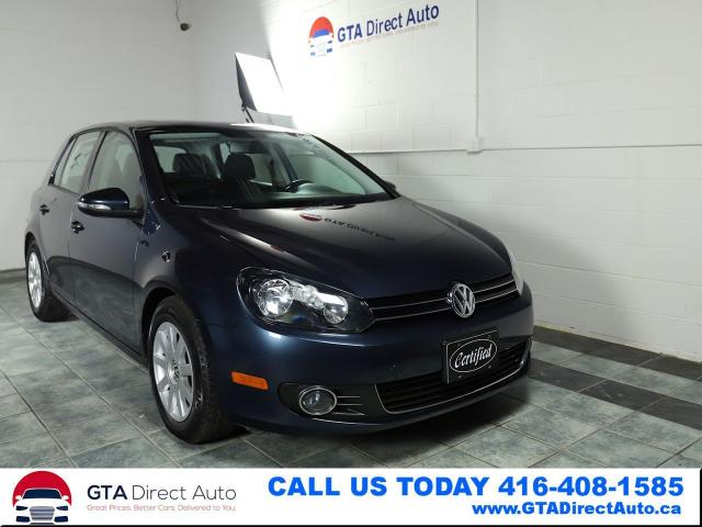 2012 Volkswagen Golf Highline TDI NAV Sunroof Leather DSG Certified
