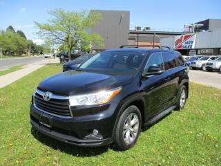 Used 2014 Toyota Highlander LE~HEATED SEATS~ALL POWE OPTIONS~BACK-UP CAM.~ for sale in Toronto, ON