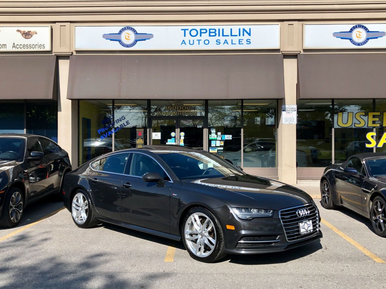 2016 Audi A7 3.0T Technik, Night Vision, HUD, S Line