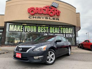Used 2015 Nissan Altima 2.5 SV+LOADED+SUNROOF for sale in Toronto, ON