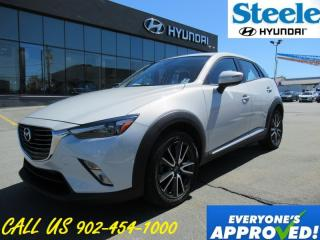 Used 2016 Mazda CX-3 GT Leather sunroof navigation loaded!! for sale in Halifax, NS