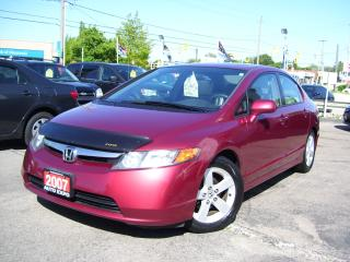 Used 2007 Honda Civic EX,One Owner,A/C,Sunroof,Alloys,Certified, for sale in Kitchener, ON