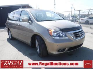 Used 2009 Honda Odyssey Touring 4D Wagon for sale in Calgary, AB