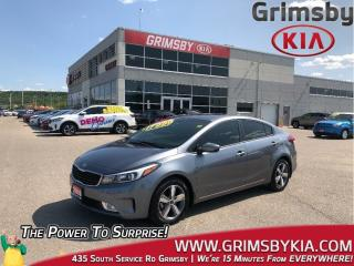 Used 2018 Kia Forte LX+| Heat Seat| Backup Cam| Bluetooth| Gas Saver! for sale in Grimsby, ON