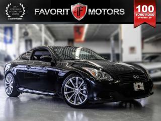 Used 2009 Infiniti G37 LEATHER | SUNROOF | 6MT | NAVIGATION for sale in North York, ON