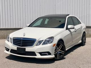 Used 2010 Mercedes-Benz E-Class 4Matic|Pano Roof|Navi|Accident Free for sale in Mississauga, ON
