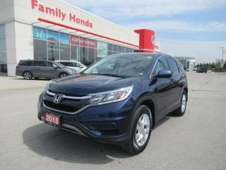 Used 2015 Honda CR-V SE, ECO MODE, BACK UP CAM! for sale in Brampton, ON