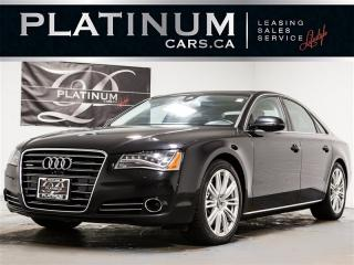 Used 2013 Audi A8 4.0T QUATTRO, NAVI, 360 CAM, Adaptive Cruise for sale in Toronto, ON