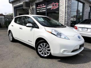Used 2016 Nissan Leaf Voiture à hayon modèle S à 4 portes for sale in Longueuil, QC