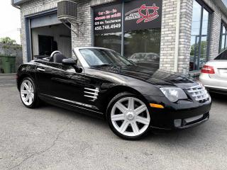 Used 2005 Chrysler Crossfire Roadster 2 portes Limited for sale in Longueuil, QC
