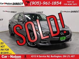 Used 2015 Infiniti Q50 | AWD| NAVI| SUNROOF| BACK UP CAMERA| for sale in Burlington, ON
