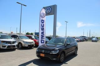 Used 2018 Volkswagen Tiguan COMFORTLINE for sale in Whitby, ON