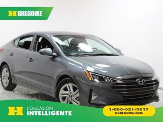 Used 2019 Hyundai Elantra CAMÉRA DE RECUL À/C for sale in St-Léonard, QC