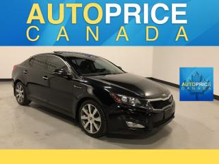 Used 2013 Kia Optima EX Luxury NAVIGATION|PANOROOF|LEATHER for sale in Mississauga, ON