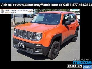 Used 2016 Jeep Renegade 4x4 Sport for sale in Courtenay, BC