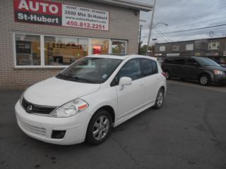 Used 2010 Nissan Versa SL for sale in St-Hubert, QC