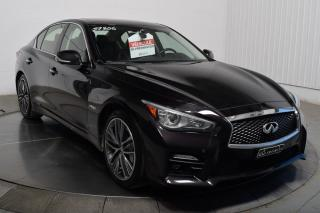 Used 2014 Infiniti Q50 Hybride Sport for sale in L'ile-perrot, QC