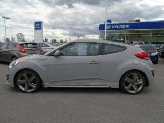 Used 2013 Hyundai Veloster Coupé 3p auto turbo avec gris mat *Disp. for sale in Joliette, QC