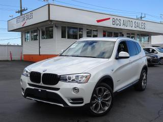 Used 2017 BMW X3 Heads Up Display, Radar Assist, Panoramic Roof for sale in Vancouver, BC