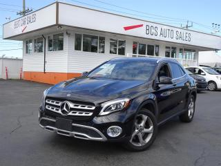 Used 2018 Mercedes-Benz GLA All Wheel Drive, Navigation, Radar Assist, Low Kms for sale in Vancouver, BC