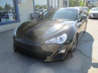 Used 2013 Scion FR-S LIKE NEW 6-SPEED MANUAL 4 PASSENGER 2.0L - 16 VALVE.. SPORT-MODE.. PIONEER AUDIO.. BLUETOOTH.. AUX/USB INPUT.. for sale in Bradford, ON