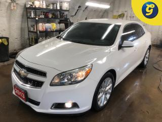 Used 2013 Chevrolet Malibu 2LT * Remote Start * Driver power seat * Hands free steering wheel controls * Phone connect * Voice Recognition * On star * 18 inch alloy rims * Teles for sale in Cambridge, ON