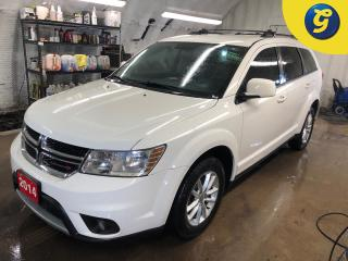 Used 2014 Dodge Journey SXT * 7 Passenger * Push button ignition * Roof Rack * Keyless/Passive entry * Phone connect * Voice recognition * Dual Climate control * Heated mirro for sale in Cambridge, ON