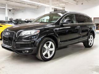 Used 2012 Audi Q7 NAVI/7PASS/REAR SUNSADES/PUSH BUTTON START/BLIND SPOT ASSIST! for sale in Toronto, ON