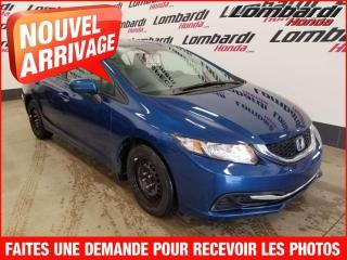 Used 2014 Honda Civic LX/AUTO/TRÈS PROPRE for sale in Montréal, QC