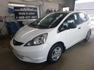 Used 2014 Honda Fit DX-A autom.air, for sale in St-Raymond, QC