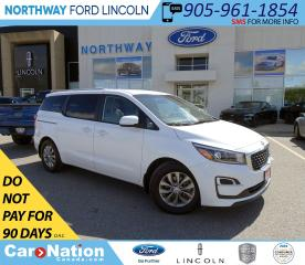Used 2019 Kia Sedona LX | HTD SEATS | 8 PASSENGER | REAR CAMERA | for sale in Brantford, ON