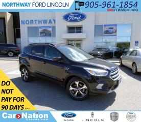 Used 2017 Ford Escape SE | NAV | HTD LEATHER | PWR LIFTGATE | 201A for sale in Brantford, ON