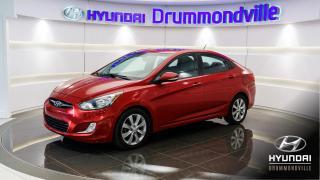 Used 2013 Hyundai Accent GLS + GARANTIE + TOIT + MAGS + FOGS + W for sale in Drummondville, QC