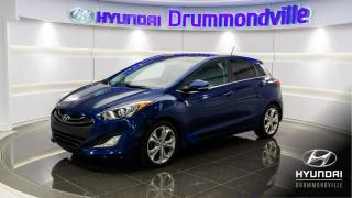 Used 2013 Hyundai Elantra GT SE + TOIT PANO + MAGS + CUIR + FOGS + BL for sale in Drummondville, QC