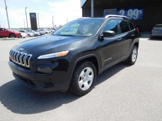 Used 2016 Jeep Cherokee Sport,mags,awd,a/c,c for sale in Mirabel, QC