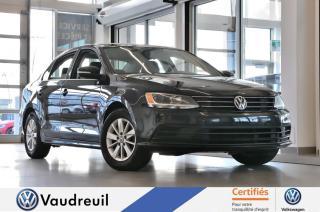 Used 2015 Volkswagen Jetta Trendline+ * 15 POUCES * A/C for sale in Vaudreuil-Dorion, QC