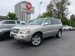 Used 2006 Toyota Highlander Limited Leather 7 Passenger for sale in Cambridge, ON
