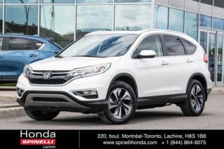 Used 2015 Honda CR-V Touring Navi Cuir for sale in Lachine, QC