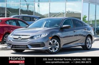 Used 2016 Honda Civic LX for sale in Lachine, QC