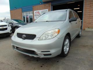 Used 2003 Toyota Matrix Familiale 5 portes, boîte automatique for sale in St-Eustache, QC